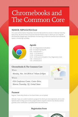 Chromebooks and The Common Core