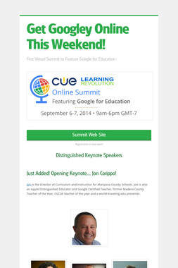 Get Googley Online This Weekend!