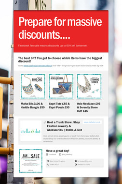 Prepare for massive discounts....