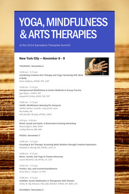 YOGA, MINDFULNESS & ARTS THERAPIES