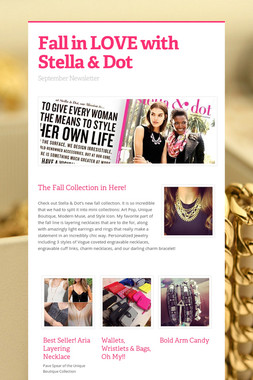 Fall in LOVE with Stella & Dot