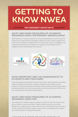 Getting to Know NWEA