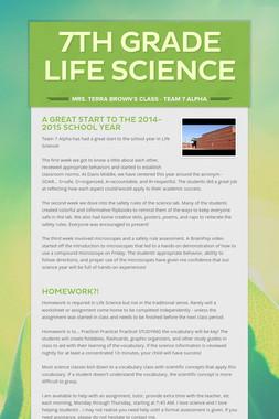 7th Grade Life Science