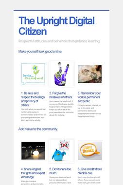 The Upright Digital Citizen