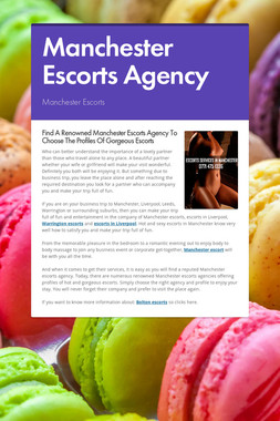 Manchester Escorts Agency