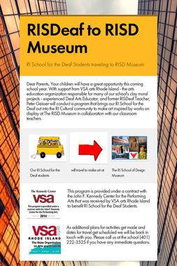 RISDeaf to RISD Museum