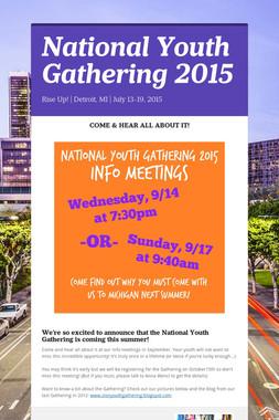 National Youth Gathering 2015