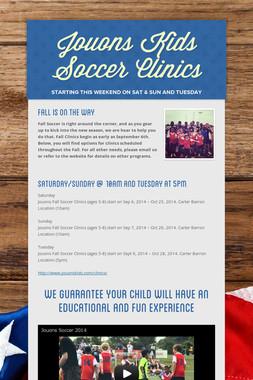Jouons Kids Soccer Clinics
