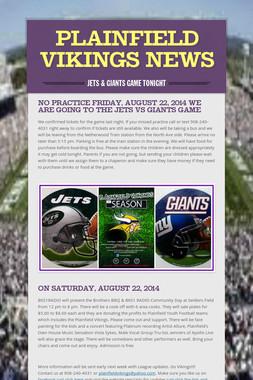 Plainfield Vikings News