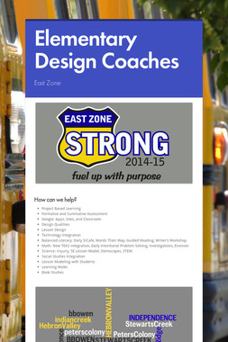Elementary Design Coaches
