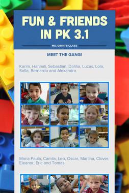 FUN & FRIENDS IN PK 3.1