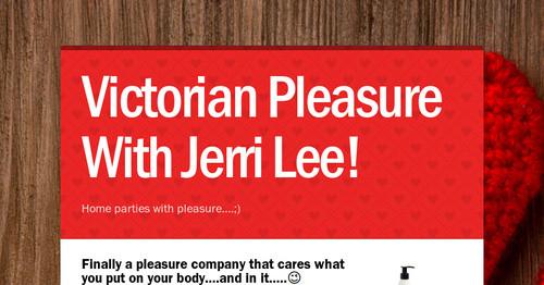 Victorian pleasure parties