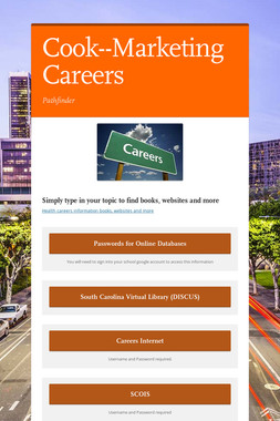 Cook--Marketing Careers