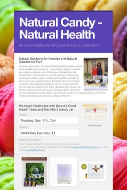Natural Candy - Natural Health