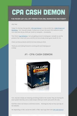 CPA Cash Demon