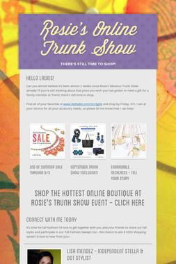 Rosie's Online Trunk Show