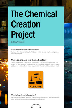 The Chemical Creation Project