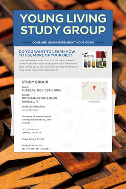 Young Living Study Group