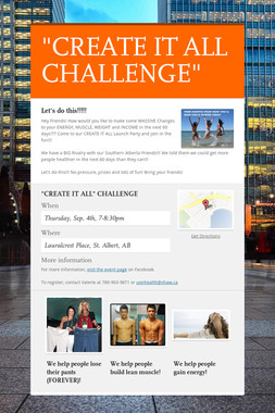 """""""CREATE IT ALL CHALLENGE"""""""