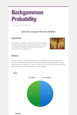 Backgammon Probability