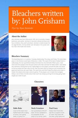 Bleachers written by: John Grisham