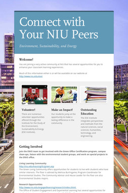 Connect with Your NIU Peers