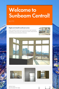 Welcome to Sunbeam Central!