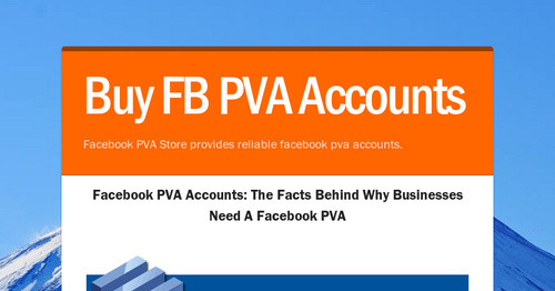 Buy FB PVA Accounts | Smore Newsletters