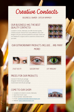 Creative Contacts