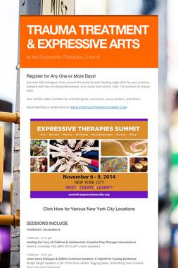 TRAUMA TREATMENT & EXPRESSIVE ARTS