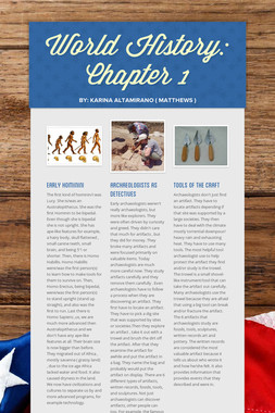 World History: Chapter 1