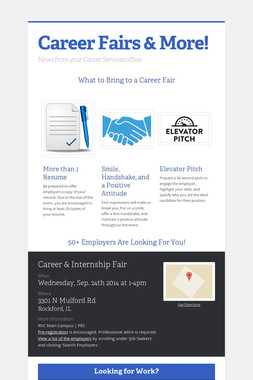 Career Fairs & More!