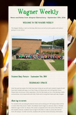 Wagner Weekly