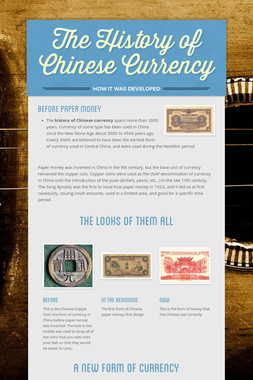 The History of Chinese Currency