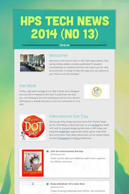 HPS Tech News 2014 (No 13)