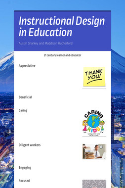 Instructional Design in Education