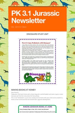 PK 3.1 Jurassic Newsletter
