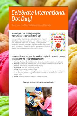 Celebrate International Dot Day!