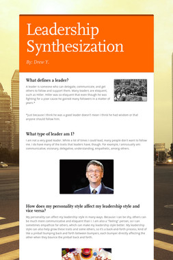 Leadership Synthesization