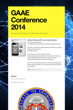 GAAE Conference 2014