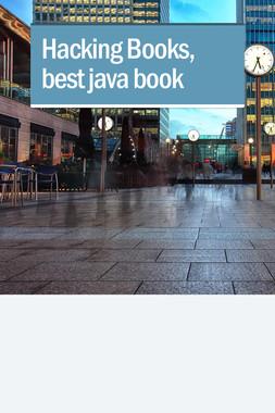 Hacking Books, best java book