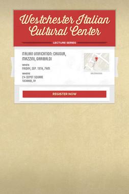 Westchester Italian Cultural Center