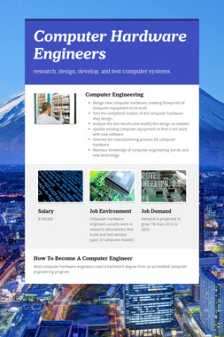 Computer Hardware Engineers