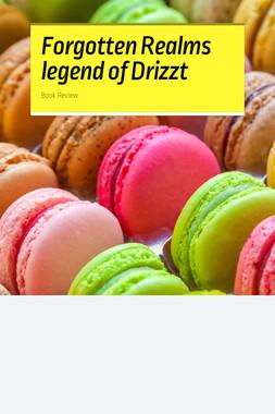Forgotten Realms legend of Drizzt