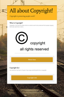 All about Copyright!