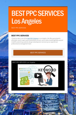 BEST PPC SERVICES Los Angeles