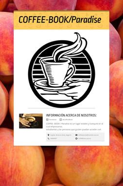 COFFEE-BOOK/Paradise