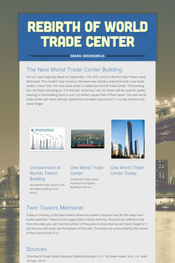 Rebirth of World Trade Center