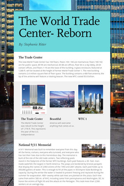 The World Trade Center- Reborn