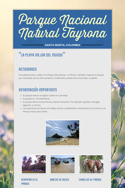 Parque Nacional Natural Tayrona